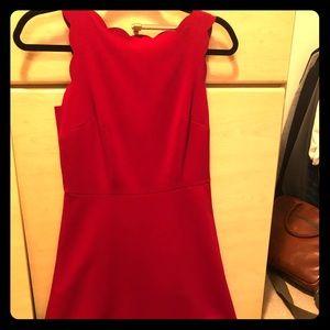Loft scalloped dress 0